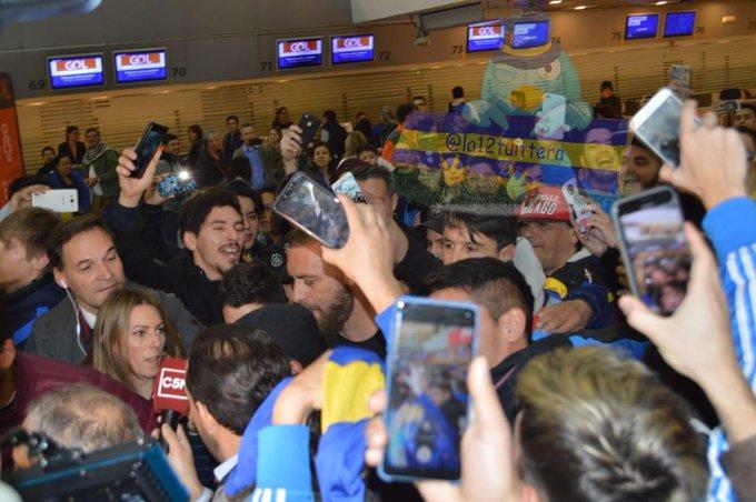 El italiano Daniele De Rossi llega a Argentina para jugar en Boca Juniors
