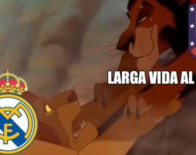 El Atlético de Madrid golea 7-3 al Real Madrid, los memes no faltaron