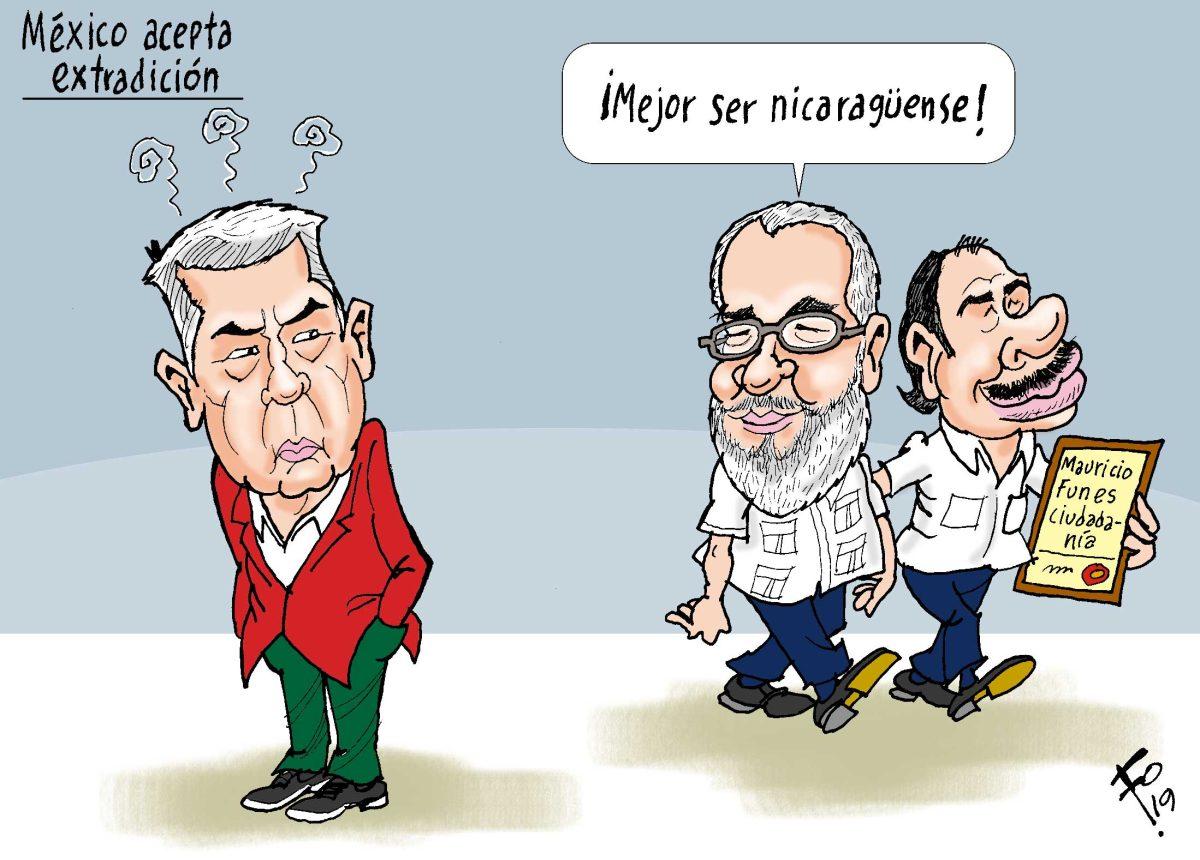 Fo: México acepta extradición