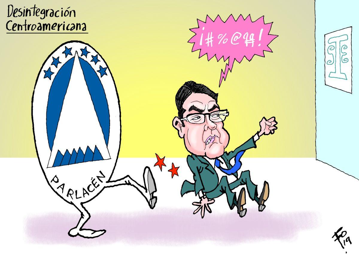Fo: Desintegración centroamericana