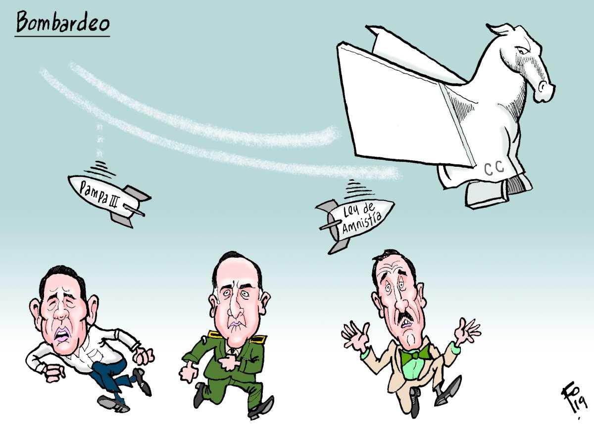 Fo: Bombardeo