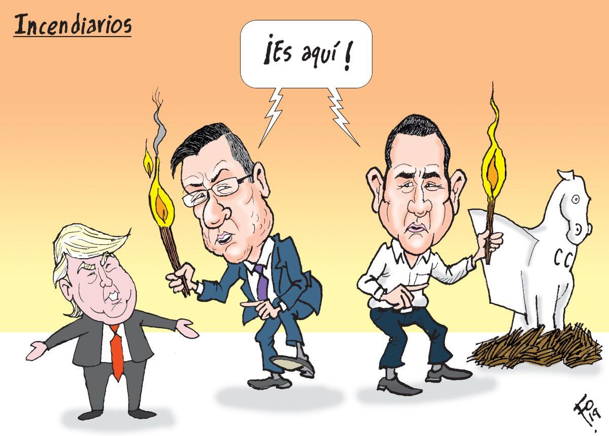 Fo: Incendiarios