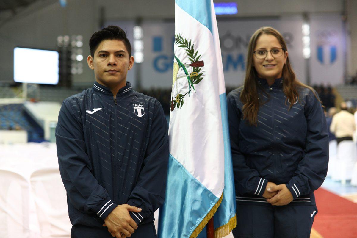 Jorge Vega es el abanderado de Guatemala para los Juegos Panamericanos de Lima 2019
