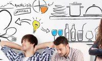 Emprendimientos trabajando ideas