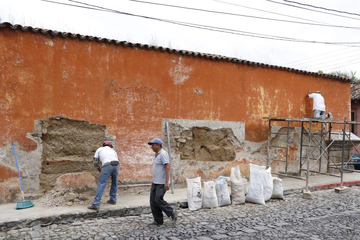 Buscan que el barrio de la Escuela de Cristo de Antigua Guatemala sea un modelo de conservación