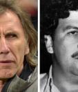 Pablo Escobar quería la venganza contra el Cartel de Cali y por eso llegó incluso a pensar matar a los jugadores del América de Cali, pera el que jugaba Ricardo Gareca. (Foto Prensa Libre: AFP y Hemeroteca PL)