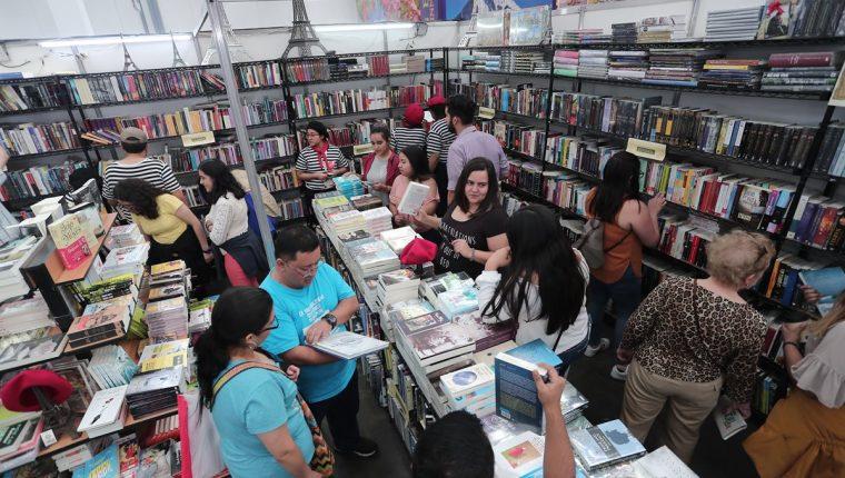 La Feria Internacional del Libro en Guatemala se encuentra en el Fórum Majadas. (Foto Prensa Libre: Hemeroteca)