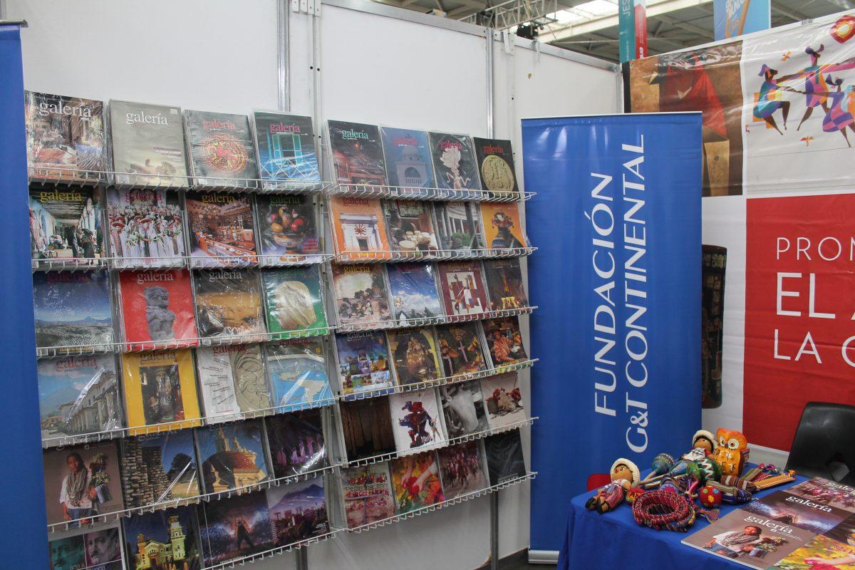 Fundación G&T Continental tendrá sus revistas y libros en la feria del libro