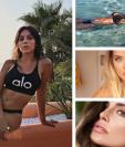 Las esposas de los futbolistas disfrutaron el verano con sol, arena y mar. (Foto Prensa Libre: Instagram)