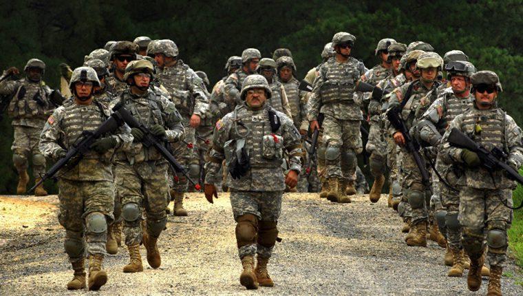 Miembros de la Guardia Nacional de EE. UU. (Foto Prensa Libre: The U.S. Army).