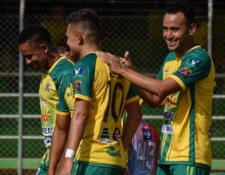 Guastatoya inició bien el torneo Apertura 2019, un buen augurio después del mal inicio que tuvo en el torneo anterior. (Foto Prensa Libre: Twitter @CD_Guastatoya)