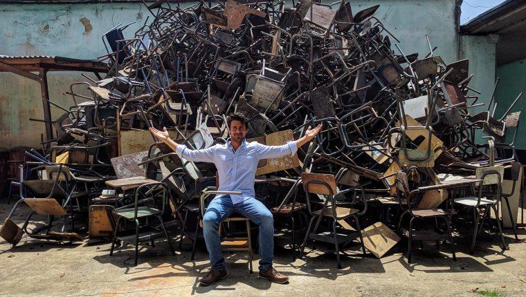 Juan José Asensio fundó 1BOT con una inversión inicial de US$25,000 y un propósito económico-social. (Foto Prensa Libre: Cortesía)