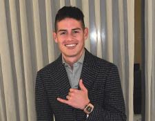 Después de su salida del Bayern Múnich el futuro de James Rodríguez, goleador de Brasil 2014 es incierto. (Foto Prensa Libre: Instagram @jamesrodriguez10)