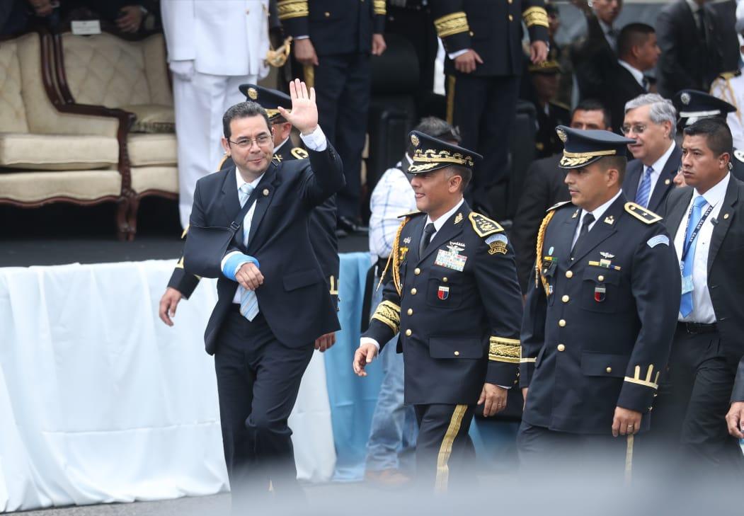 Jimmy Morales reprograma visita a Washington y espera resolución de la CC