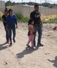 Detener la migración desde Guatemala hasta México son los objetivos de Trump. (Foto Prensa Libre: EFE)