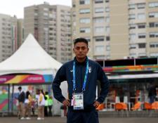 Williams Julajuj buscará sobresalir en el maratón de los Juegos Panamericanos de Lima. (Foto Prensa Libre: Carlos Vicente)