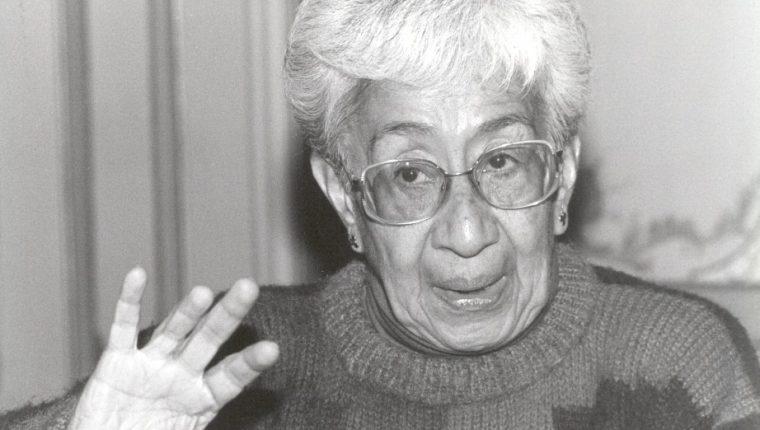 La guatemalteca Julia Esquivel fue una poetisa admirada y respetada en el círculo literario nacional. (Foto Prensa Libre: Cortesía)