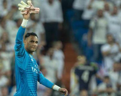 Keylor Navas espera al Real Madrid para incorporarse al trabajo. (Foto Prensa Libre: Redes)