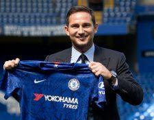 El Chelsea confirmó la contratación de su exjugador Frank Lampard como su nuevo entrenador (Foto Prensa Libre: AFP)