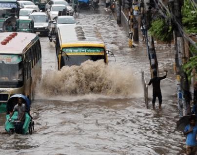 Fuertes lluvias se han registrado en Nepal e India.