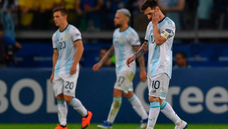 Lionel Messi y Argentina disputarán mañana el juego del tercer lugar contra Chile en la Copa América 2019 (Foto Prensa Libre: AFP)