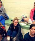 Congresistas demócratas en una supervisión dialogaron con mujeres migrantes detenidas en centros de El Paso, Texas, en EE. UU. (Foto Prensa Libre: Cortesía)