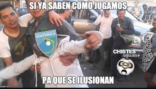 La Sub 23 de Guatemala queda al borde de la eliminación después de perder 0-3 contra Costa Rica. (Foto Prensa Libre: Memes futboleros)