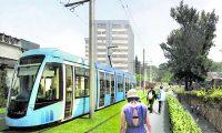 """""""El MetroRiel será un transporte moderno, eficiente, seguro y ambientalmente amigable. En un futuro próximo formará parte del sistema integrado de transporte de nuestra Ciudad"""", explica el Alcalde Ricardo Quiñónez."""
