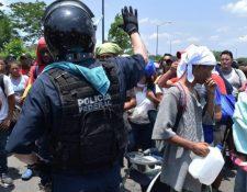Las autoridades mexicanas iniciaron con un programa de repatriación para migrantes. (Foto Hemeroteca)