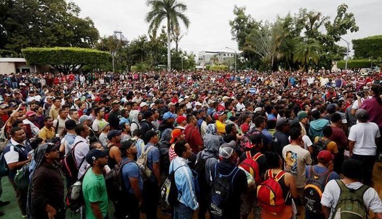 Migrantes hondureños buscan llegar a EE. UU. a cualquier costo. (Foto Prensa Libre: Hemeroteca)