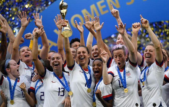La selección nacional femenina de Estados Unidos conquistó la última edición del Mundial que se celebró en Francia 2019. (Foto Prensa Libre).