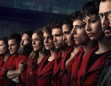Faltan pocas hora para el inicio de la nueva temporada de La Casa de Papel. (Foto Prensa Libre: Netflix)