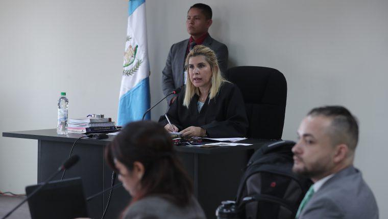 Eva Recinos, titular del Juzgado de Mayor Riesgo E. (Foto Prensa Libre: Hemeroteca PL)