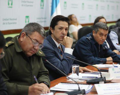 Víctor Martínez fue ministro de Finanzas durante el gobierno de Jimmy Morales desde el 13 de septiembre de 2018. (Foto Prensa Libre: Hemeroteca)