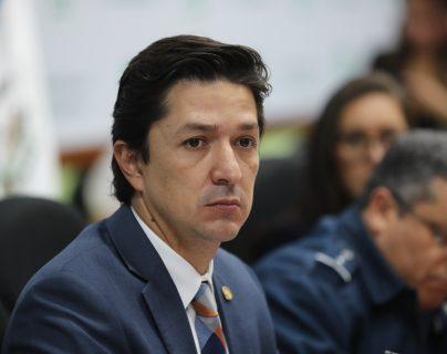 Víctor M. Martínez, ministro de finanzas. (Foto Prensa Libre: Hemeroteca PL)