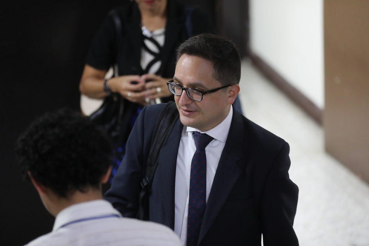 MP investiga denuncia por supuesto audio contra fiscal Juan Francisco Sandoval