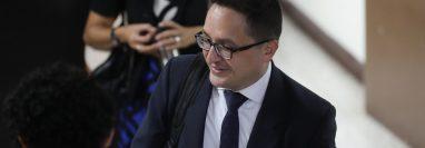 Juan Francisco Sandoval, jefe de la Fiscalía Especial contra la Impunidad. (Foto Prensa Libre: Hemeroteca PL)