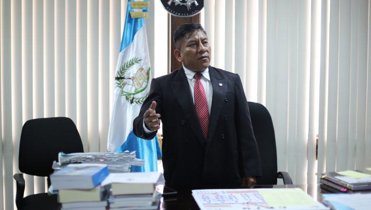 Juez Pablo Xitumul de Paz. (Foto Prensa Libre: Hemeroteca PL)