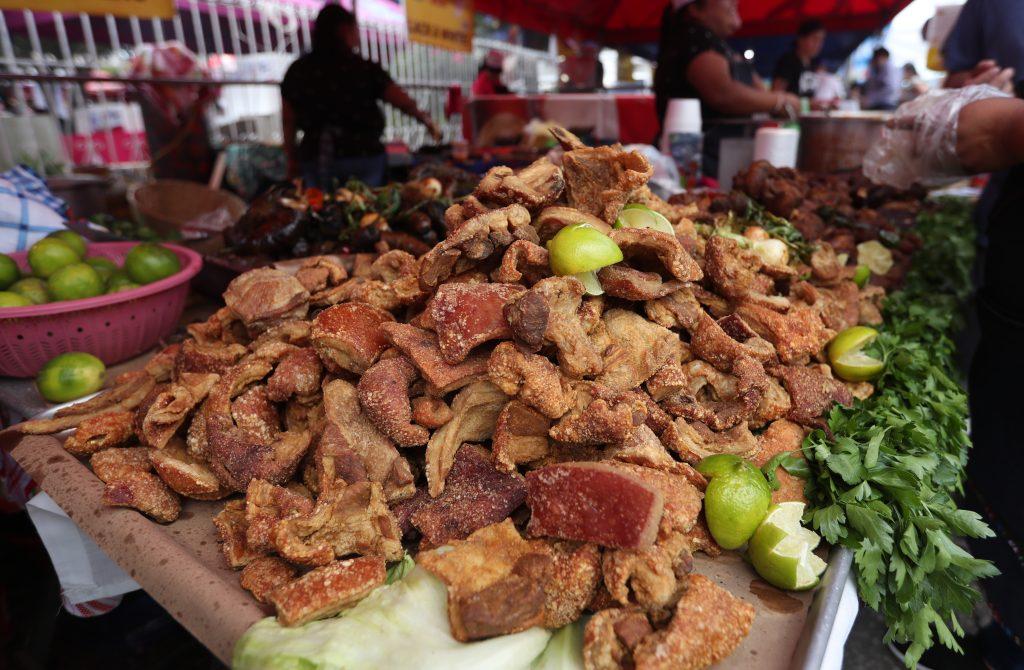comerciantes también ven el evento como una buena oportunidad para dar a conocer el sabor que le dan a su producto.(Foto Prensa Libre: Esbin García)