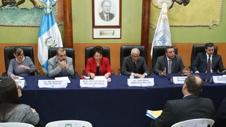 Los magistrados del TSE dejaron los cargos este viernes. (Foto Prensa Libre:: Hemeroteca PL)