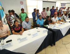 Al menos 11 sectores serán impactados por el cierre temporal de la mina Fénix en El Estor, Izabal. (Foto Prensa Libre: Esbin García)