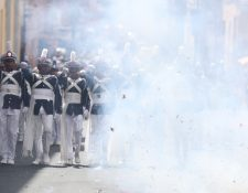 Este domingo se realizó el desfile del Liceo Mercantil