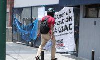 La Universidad de San Carlos permanece cerrada desde el 27 de julio (Foto Prensa Libre: Hemeroteca)