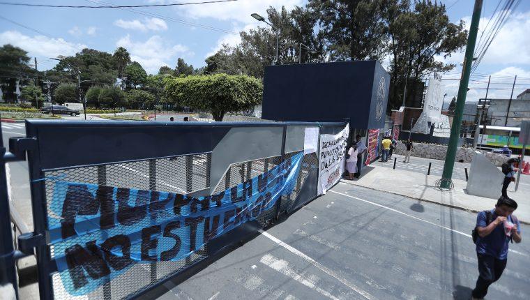 Los estudiantes tomaron distintas sedes de la Usac a nivel nacional por casi un mes, afectando el ciclo académico. (Foto Prensa Libre: Hemeroteca PL)