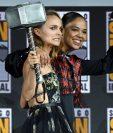 "Natalie Portman participará en ""Thor: Love and Thunder"" como una Thor femenina. (Foto Prensa LIbre: AFP)"