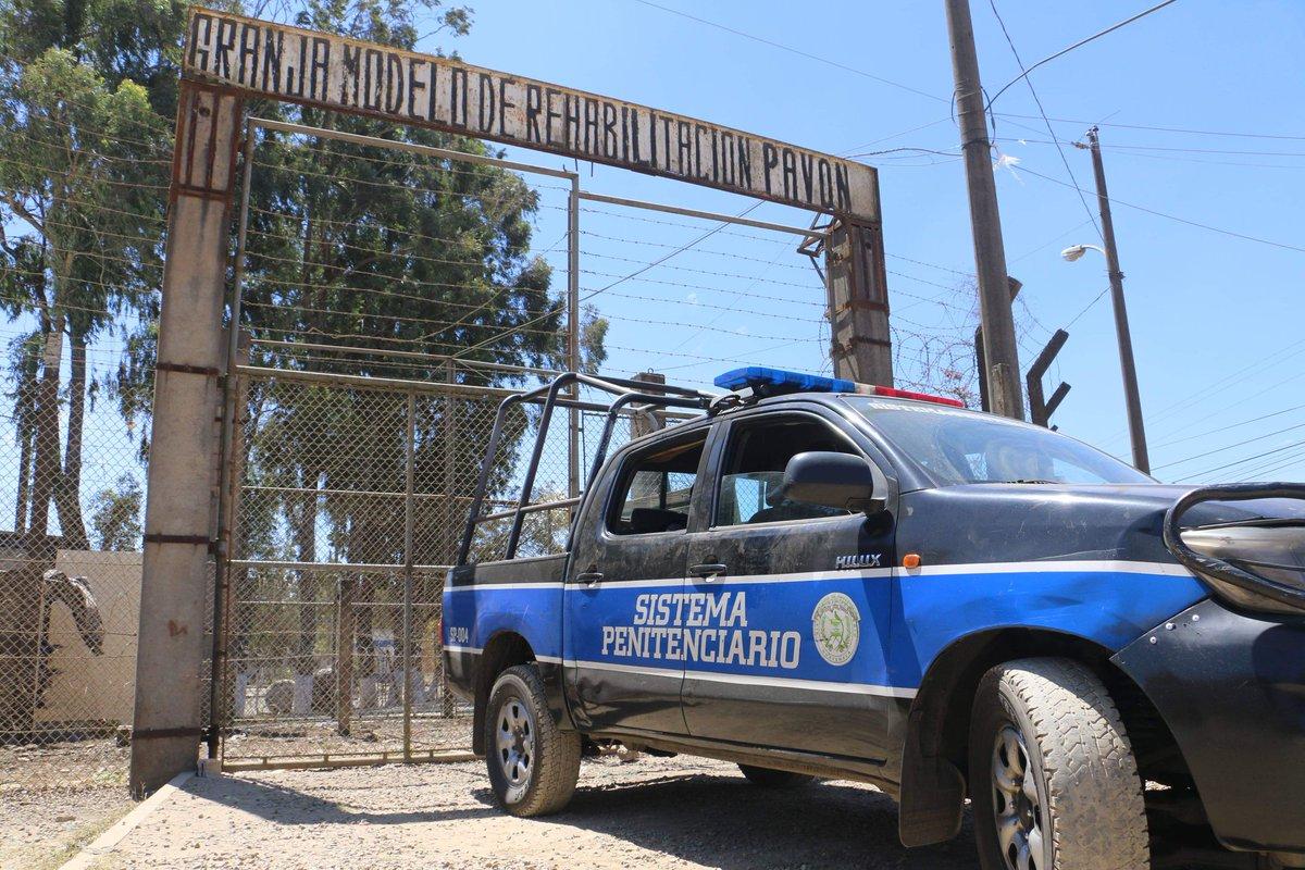 Un muerto y tres reos heridos por disturbios en Granja de Rehabilitación Pavón