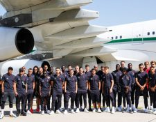 El equipo del PSG, encabezado por Neymar, viajó a China para continuar con su pretemporada. (Foto Prensa Libre: PSG)
