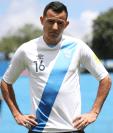 Marco Pablo Pappa fue tomado en cuenta por Amarini Villatoro para el primer microciclo de trabajo de cara a la Liga de Naciones de la Concacaf. (Foto Prensa Libre: Jorge Ovalle)