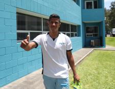 El mediocampista Pedro Altán espera que la Bicolor pueda remontar el marcador frente a Costa Rica. (Foto Prensa Libre: Francisco Sánchez)