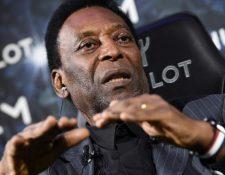 Pelé no se presentó a un evento promocional por problemas de salud. (Foto Prensa Libre: Hemeroteca PL)